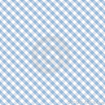 Free Gingham Cross Weave, Pastel Blue, Seamless Background Royalty Free Stock Image - 7066526