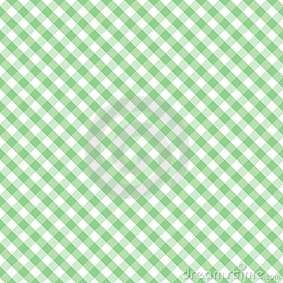 Gingham Cross Weave, Pastel Green Seamless