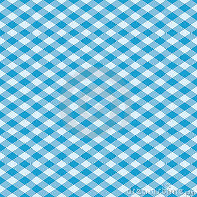 Gingham Pattern in Blue