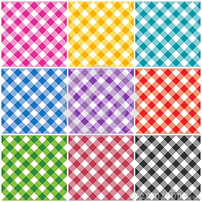 Gingham patterns