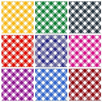 Gingham Patterns Stock Photography - Image: 25354772