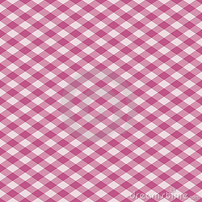 Gingham Plaid in Pink