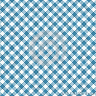 Free Gingham Seamless Blue Pattern. Tablecloths Texture, Plaid Background. Typography Graphics For Shirt, Clothes. Royalty Free Stock Images - 114443319