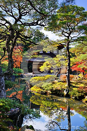 Ginkaku-ji Temple in Kyoto