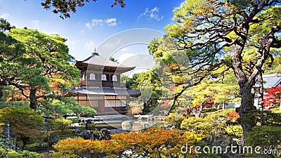 Ginkaku-ji Temple in Kyoto