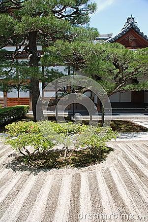 Ginkakuji Temple Gardens, Japan