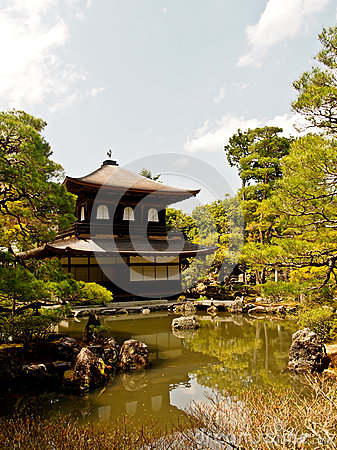 Ginkakuji temple, Kyoto, Japan 2