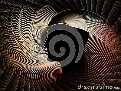 Gioco della geometria di anima