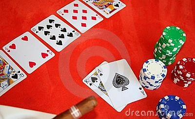 Gioco di mazza del Texas Holdem