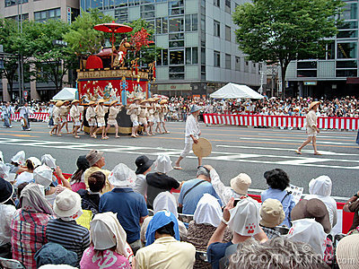 Gion Matsuri Editorial Photo