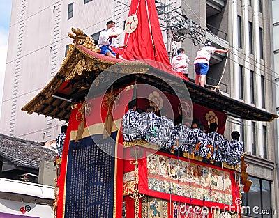Gion matsuri chariot