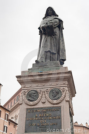 Giordano Bruno monument on Campo de Fiori, Rome