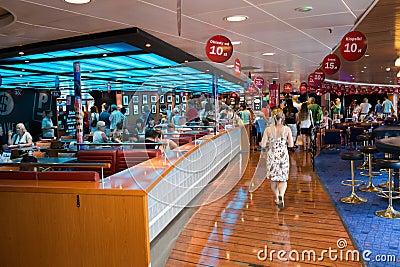 Giornata porte aperte sullo spirito di Stena del traghetto. Immagine Editoriale