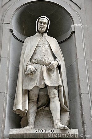Free Giotto Statue Royalty Free Stock Images - 15639099