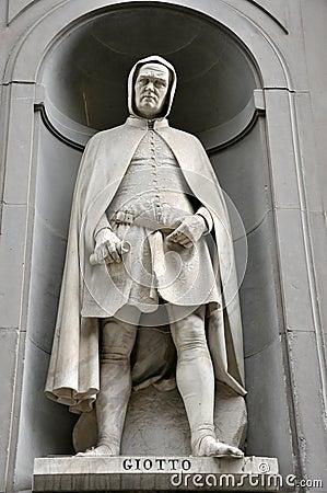 Giotto statue