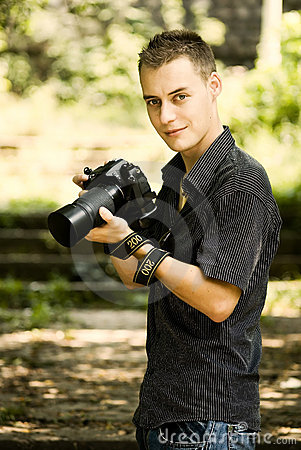 Giovane fotografo