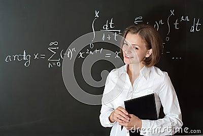 Giovane insegnante