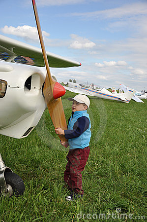 Giovane pilota