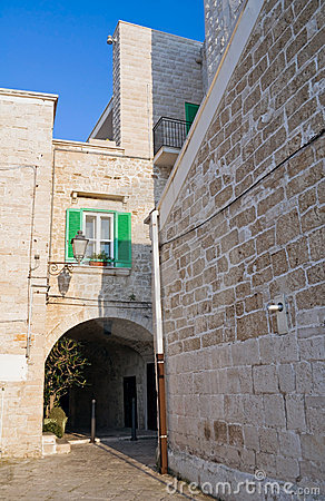 Giovinazzo Oldtown. Apulia.