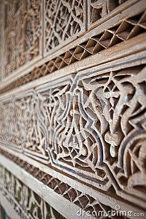Gipspleister en metselwerk, Marokko