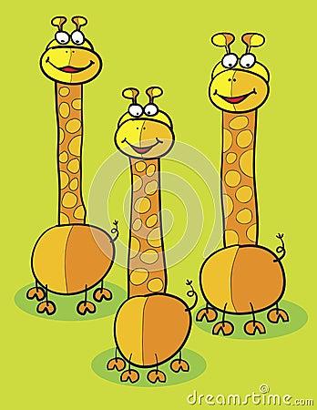 Giraffe clipart