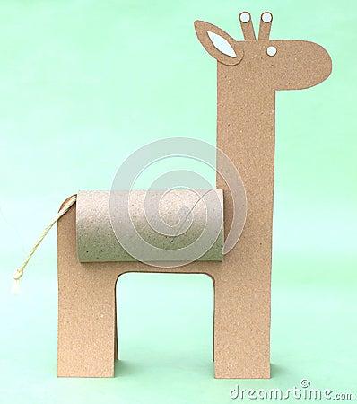 Giraffe De Papel