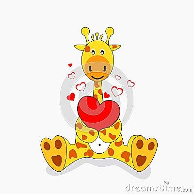 Giraffe In Love Stock Images - Image: 16196604