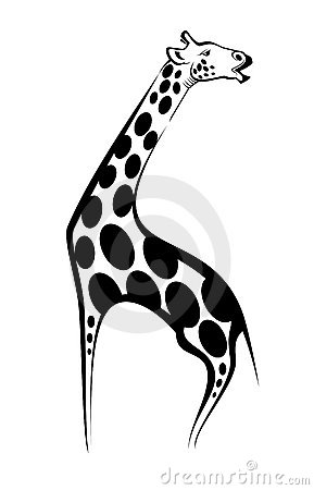 Giraffe mascot