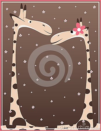 Free Giraffe Pair Stock Images - 27588994