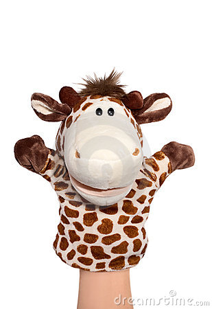 Free Giraffe Puppet Stock Photos - 7504033