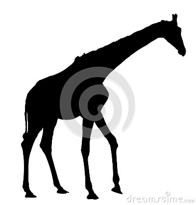 Free Giraffe  Silhouette. Royalty Free Stock Images - 115891359