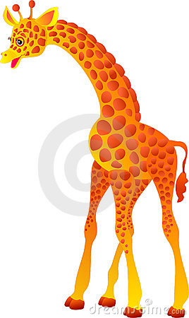 Giraffe. Vector illustration