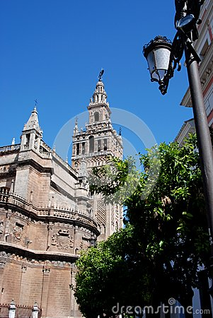 Giralda Tower, Seville, Spain.