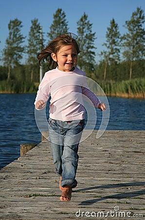 girl active
