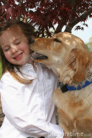 Free Girl And Dog Royalty Free Stock Photo - 7013825