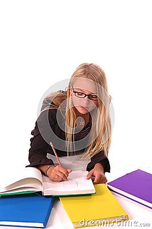 Girl Art Student