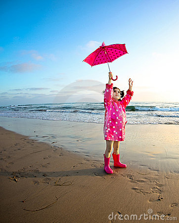 Free Girl At The Beach Stock Photo - 10348390