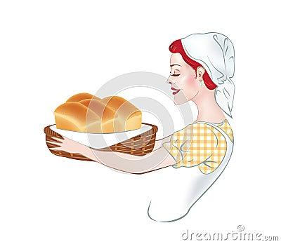 Girl - a baker