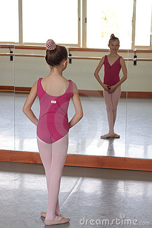 Girl ballet dancer