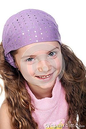 Girl in bandana