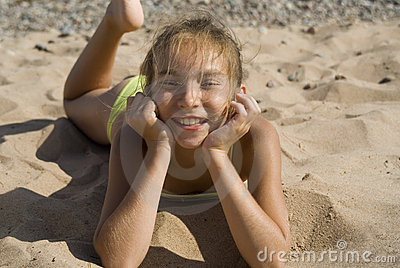 Girl on the beach II