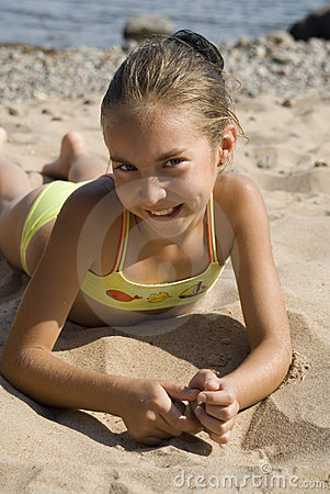 Girl on the beach III