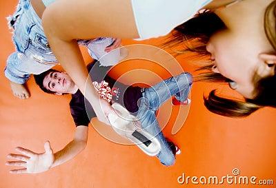 Girl Beating Guy