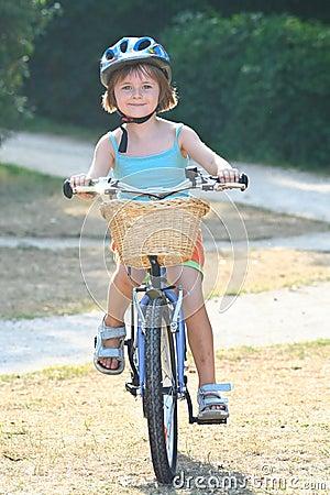 Free Girl Bicycle 3 Stock Photo - 3027480