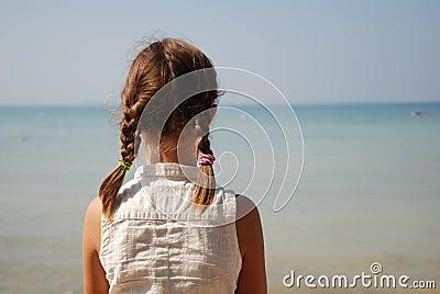 Girl in the Boat Ramp