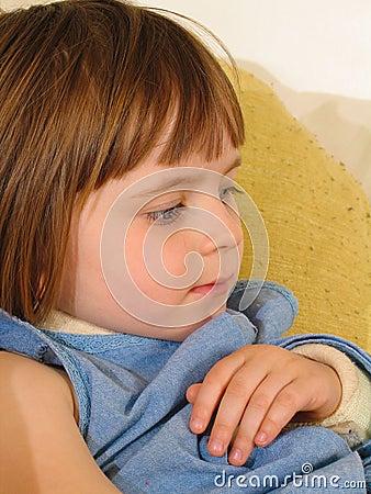 Girl Broken Arm Sling