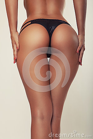 Free Girl Butt, Without Cellulite Royalty Free Stock Images - 42437749