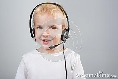 Girl call center