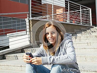 Girl cell mobile