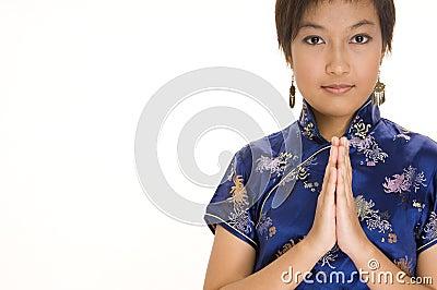 Girl In Cheong Sam 2